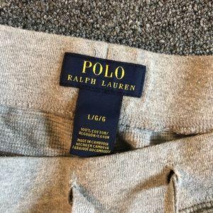 Polo Ralph Lauren gray sweat shorts